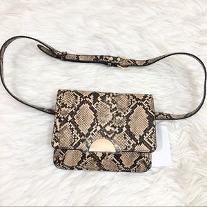 A New Day NWT Snake Print Fanny Bag